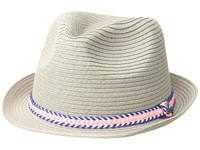 Prana Juliette Fedora Light Grey Fedora Hats Gray