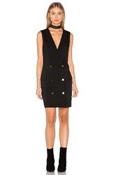Minkpink Crawford Blazer Dress Black