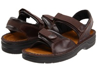 Naot Footwear Andes Walnut Leather Men's Sandals Brown