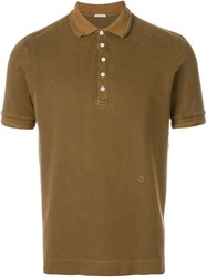 Massimo Alba Pique Polo Shirt Brown