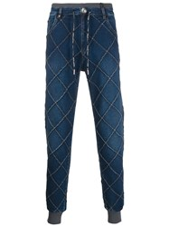 Philipp Plein Quilted Trousers 60