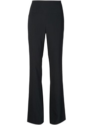 Narciso Rodriguez Flared Trousers Black