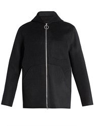 Acne Studios Maua Wool And Cashmere Blend Jacket Navy