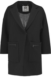 Milly Nikki Wool Blend Coat Black