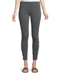 Johnny Was Voltage Embroidered Leggings Plus Size