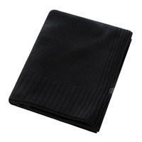 Zoeppritz Since 1828 Hot Cashmere Throw 110X150cm Black