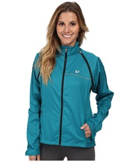 Pearl Izumi W Elite Barrier Convertible Cycling Jacket Deep Lake Women's Jacket Blue