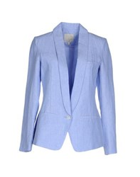 Joie Suits And Jackets Blazers Women Sky Blue