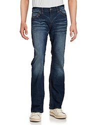 Affliction Whiskered Bootcut Jeans Knoxville