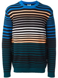 Kenzo Stripe Knitted Sweater Black