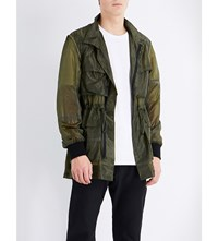 Christopher Raeburn Parachute Shell Field Jacket Olive