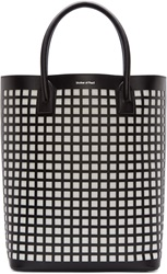 Mother Of Pearl Black And White Pentley Tote