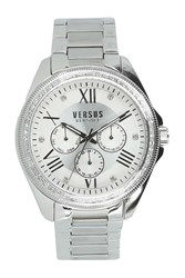 Versus By Versace 'S Elmont Swarovski Crystal Accent Bracelet Watch 40Mm Stainless Steel
