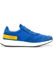 Z Zegna Techmerino Sneakers Blue