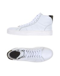 Daniele Alessandrini Homme Footwear High Tops And Trainers Men White