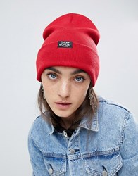 Cheap Monday Beanie In Red Brilliant Red