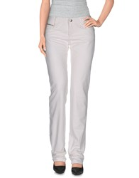 Cnc Costume National C'n'c' Costume National Denim Denim Trousers Women White