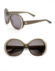House Of Harlow Nicole 60Mm Round Sunglasses Grey
