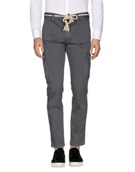 Basicon Casual Pants Grey