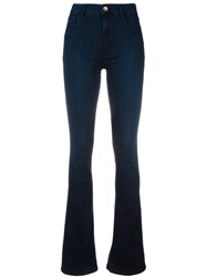 Twin Set Stretch Flared Jeans Blue