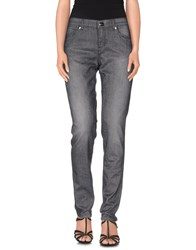 Escada Sport Denim Denim Trousers Women Steel Grey