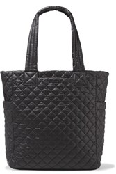 M Z Wallace Mz Max Quilted Shell Tote Black