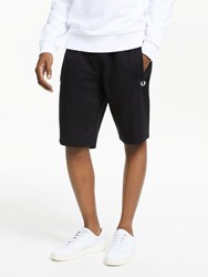 Fred Perry Tricot Sweat Shorts Black