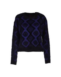 Motel Rocks Sweaters Dark Purple