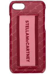 Stella Mccartney Logo Printed Iphone 7 8 Cover Red