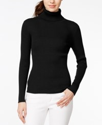 Maison Jules Long Sleeve Ribbed Turtleneck Only At Macy's