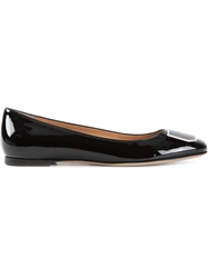 Bally 'Holga' Ballerinas Black