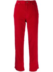 Marc Jacobs Corduroy Jeans Red