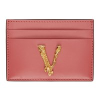 Versace Pink Virtus Card Holder