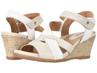 Earth Thistle Off White Multi Soft Leather Clog Mule Shoes