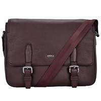 Boss Logo Boss Martie Messenger Bag Burgundy