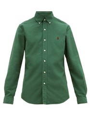 Polo Ralph Lauren Slim Fit Cotton Shirt Green
