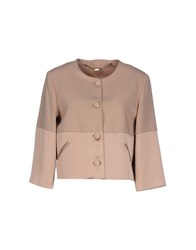 Lunatic Suits And Jackets Blazers Women Light Brown