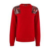 Raf Simons Patch Jumper Red