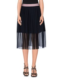 Roberto Collina Skirts Knee Length Skirts Women Dark Blue