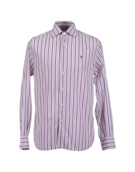 Jaggy Shirts Long Sleeve Shirts Men Light Purple