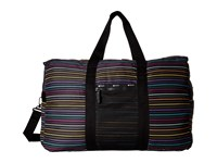 Le Sport Sac Large Global Weekender Lestripe Travel Weekender Overnight Luggage Multi