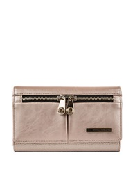 Kenneth Cole Reaction Wooster Street Leather Wristlet Blush