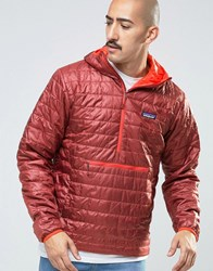 Patagonia Overhead Nano Puff Jacket Cinder Re Red