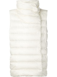 Ralph Lauren Black Label Ralph Lauren Black Padded Roll Neck Vest White