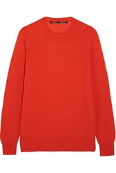Proenza Schouler Merino Wool Sweater Red