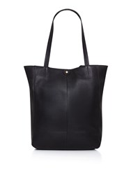 Maison De Nimes Etta Leather Tote Black