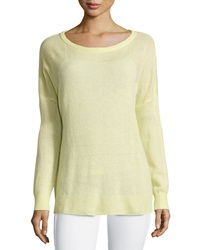 Minnie Rose Cashmere Relaxed Pullover Sweater Art Basel