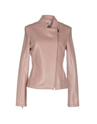 Dekker Coats And Jackets Jackets Women Pastel Pink