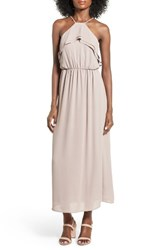 Lush Women's Ruffle Maxi Dress