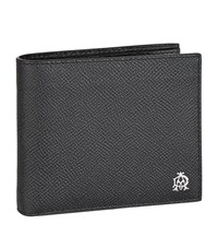 Dunhill Saffiano Leather Wallet Unisex Black